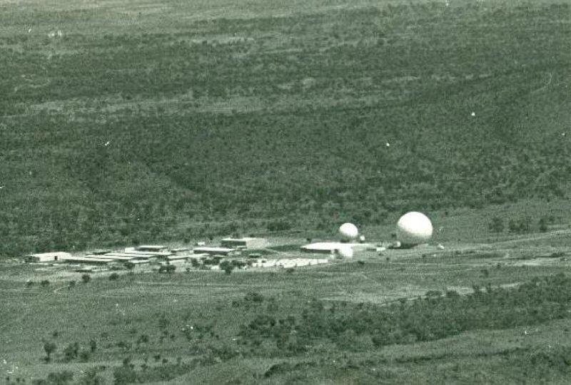 Pine Gap, 1969. Photograph: Desmond Ball