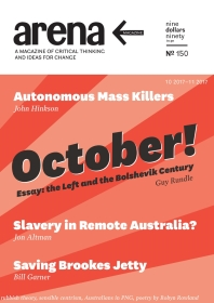Arena Magazine cover: issue 150