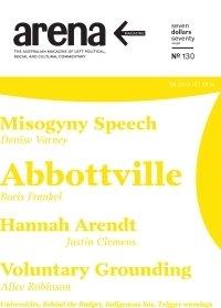 Arena magazine cover: Issue 130