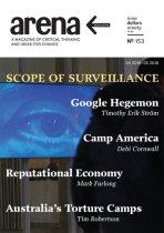 Arena Magazine cover: issue no. 153